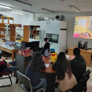 University mentors in training by US AQIQ program partners