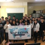 Mapathon event with university students