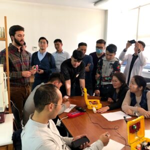 Air quality monitoring workshop led by University of Colorado Boulder in Mongolia